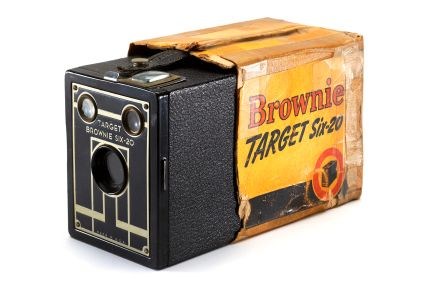 Legendarsike Kodak Brownie. Foto: Wikipedia