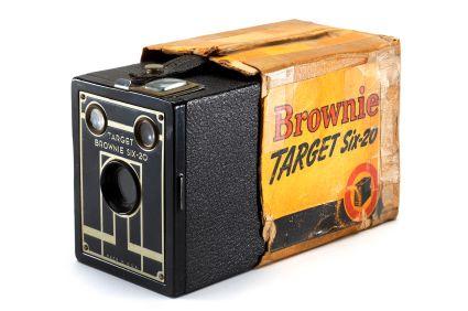 Kodak stod blant annet bak det legendariske Brownie-kameraet.Foto: Wikipedia