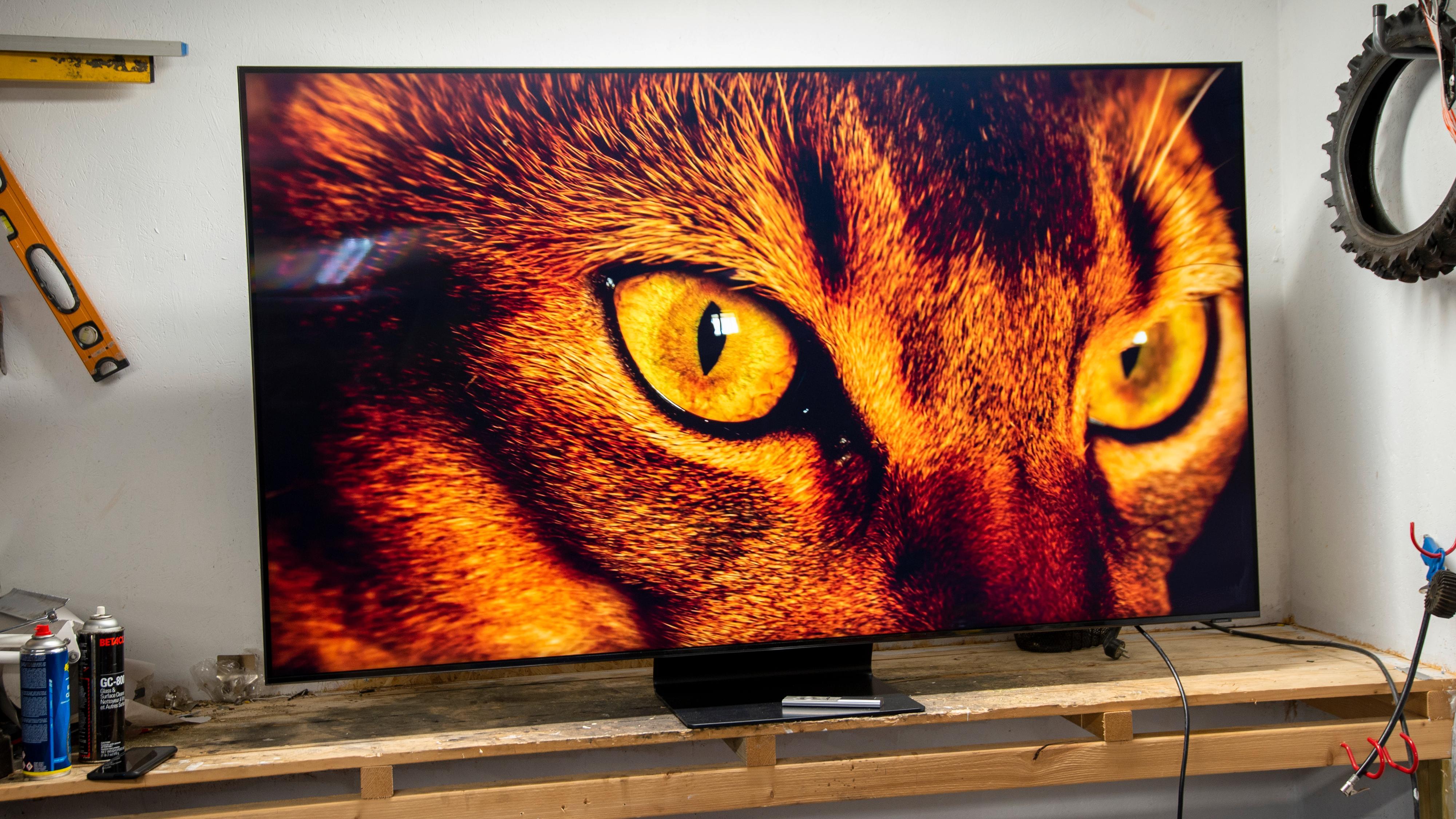 Samsungs nyeste 8K-TV byr på gnistrende skarphet