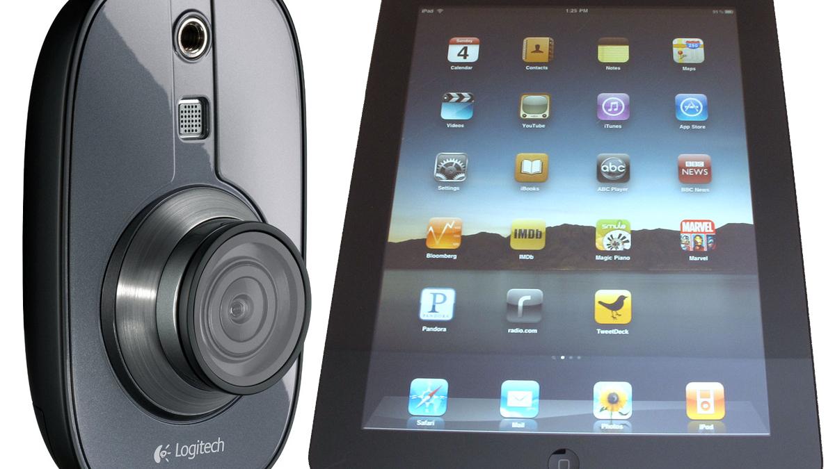 Overvåk hjemmet fra din iPad