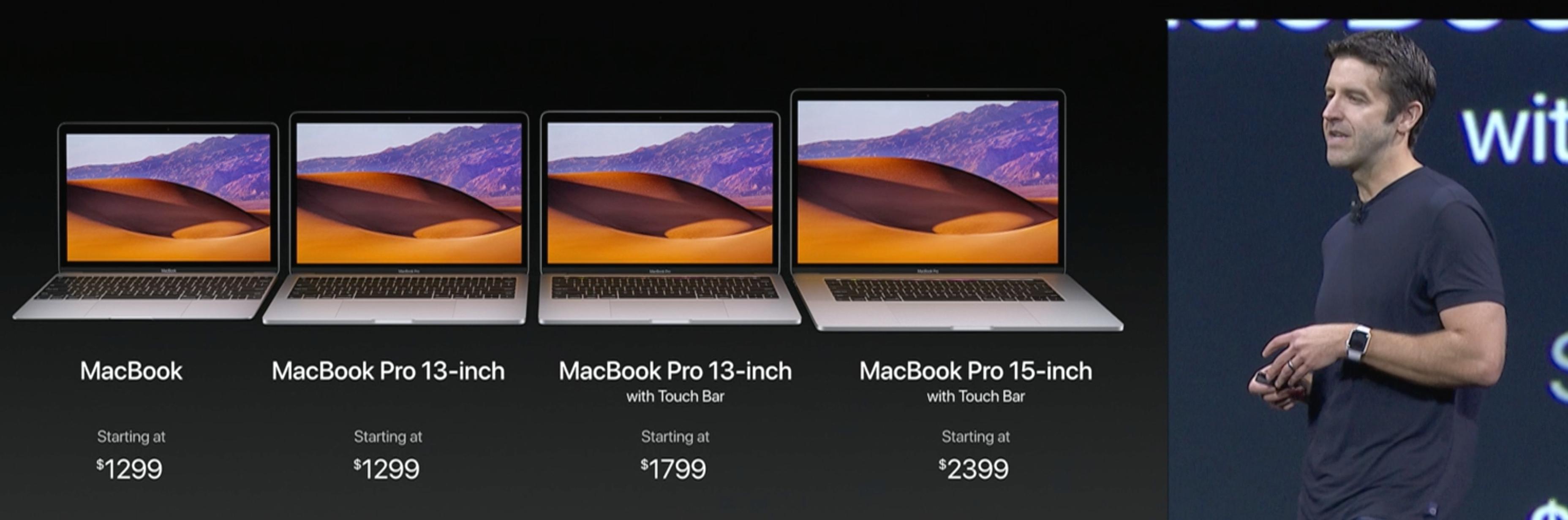 MacBook Pro-ene får også ny innmat.