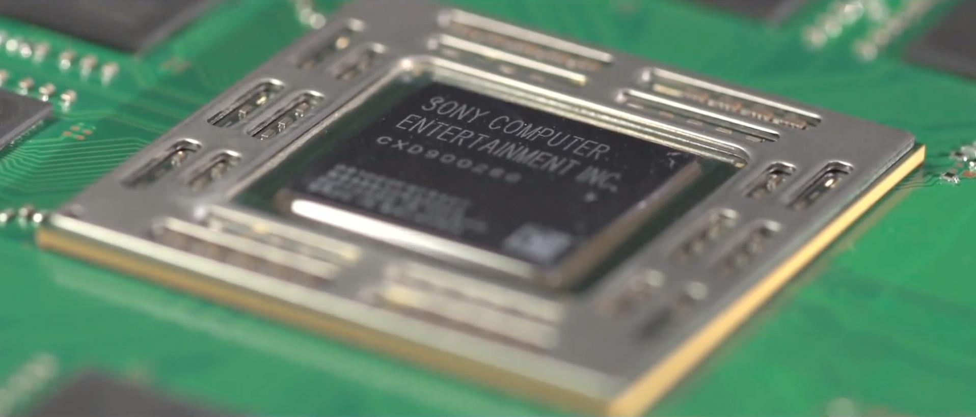 Prosessoren i Playstation 4 er klokket til 1,6 GHz.Foto: Wired