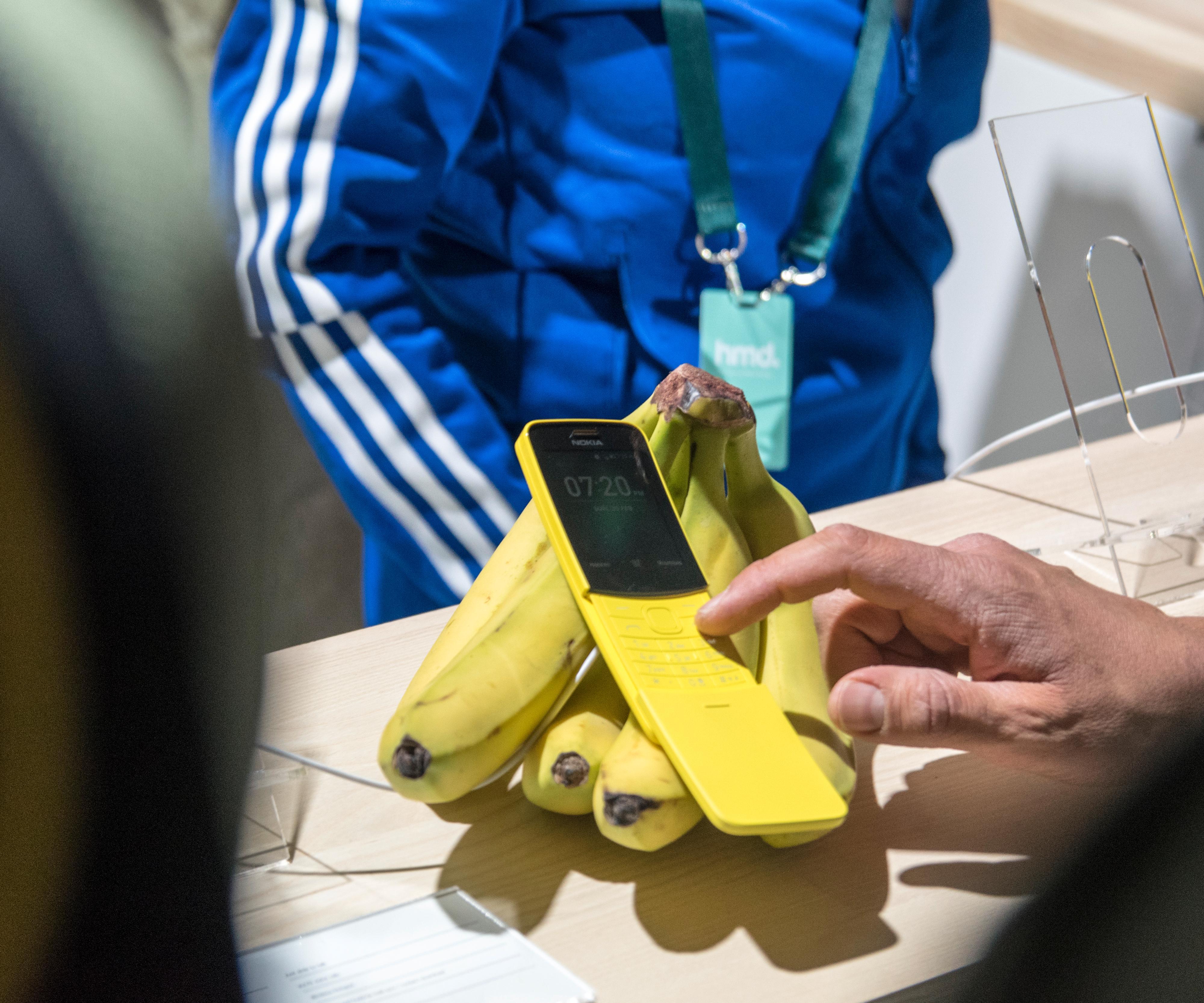 Bananene fikk kjørt seg. Vi var ikke alene om å ta i bruk bananklasene på HMDs utstillingsdisk.