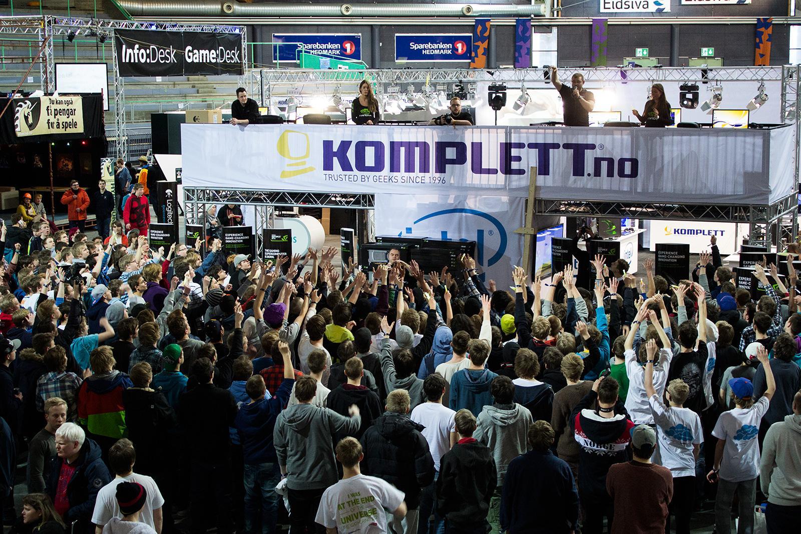 Det er et utall ting som skjer på The Gathering.Foto: Varg Aamo, hardware.no