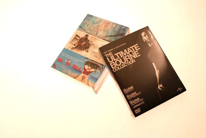 Med litt flaks havner den ultimate Jason BOurne-boksen i din postkasse.