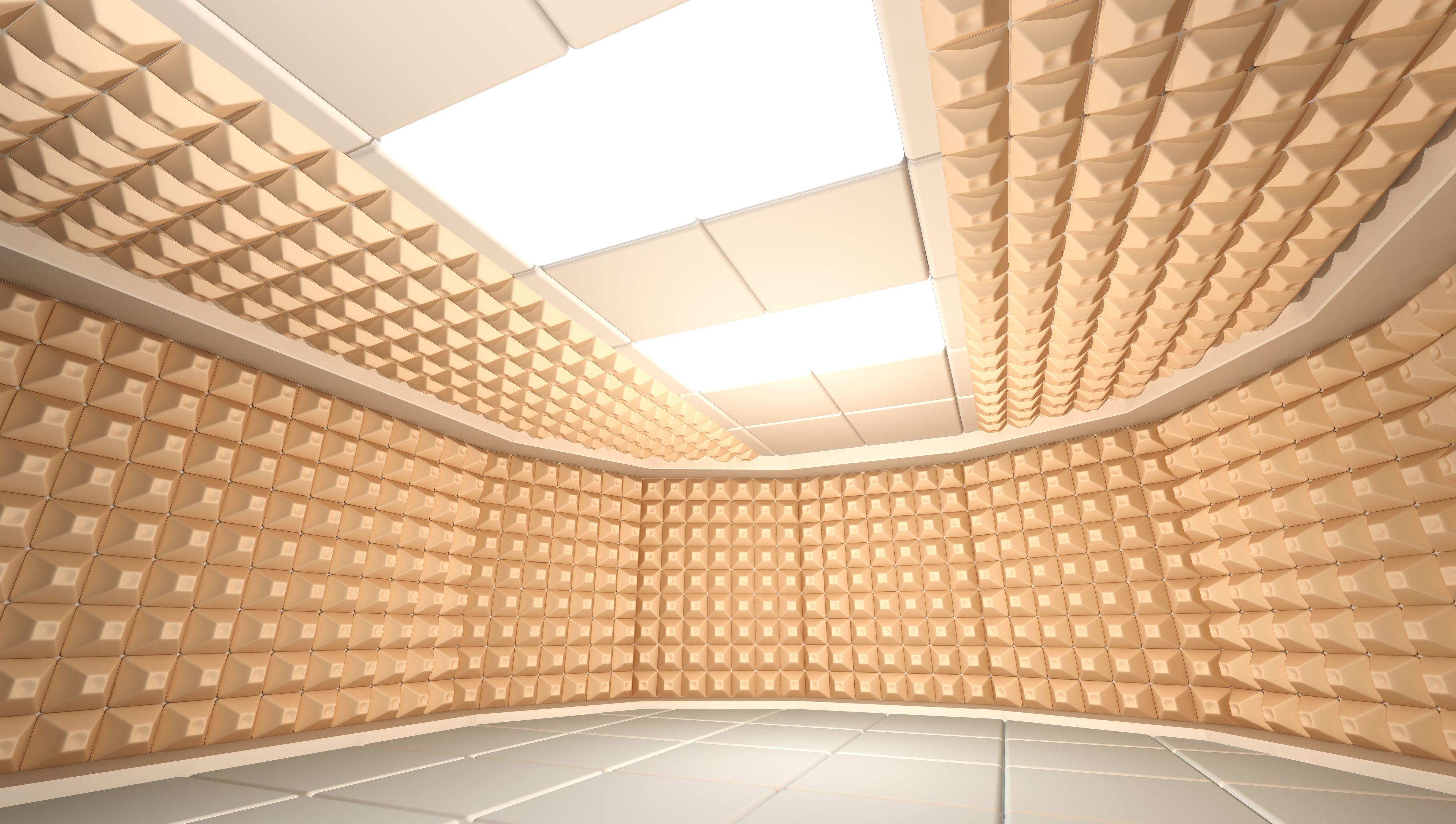 Kanskje ikke en hjemmekino, men her snakker vi ganske ekstrem behandling av veggene.Foto: Shutterstock