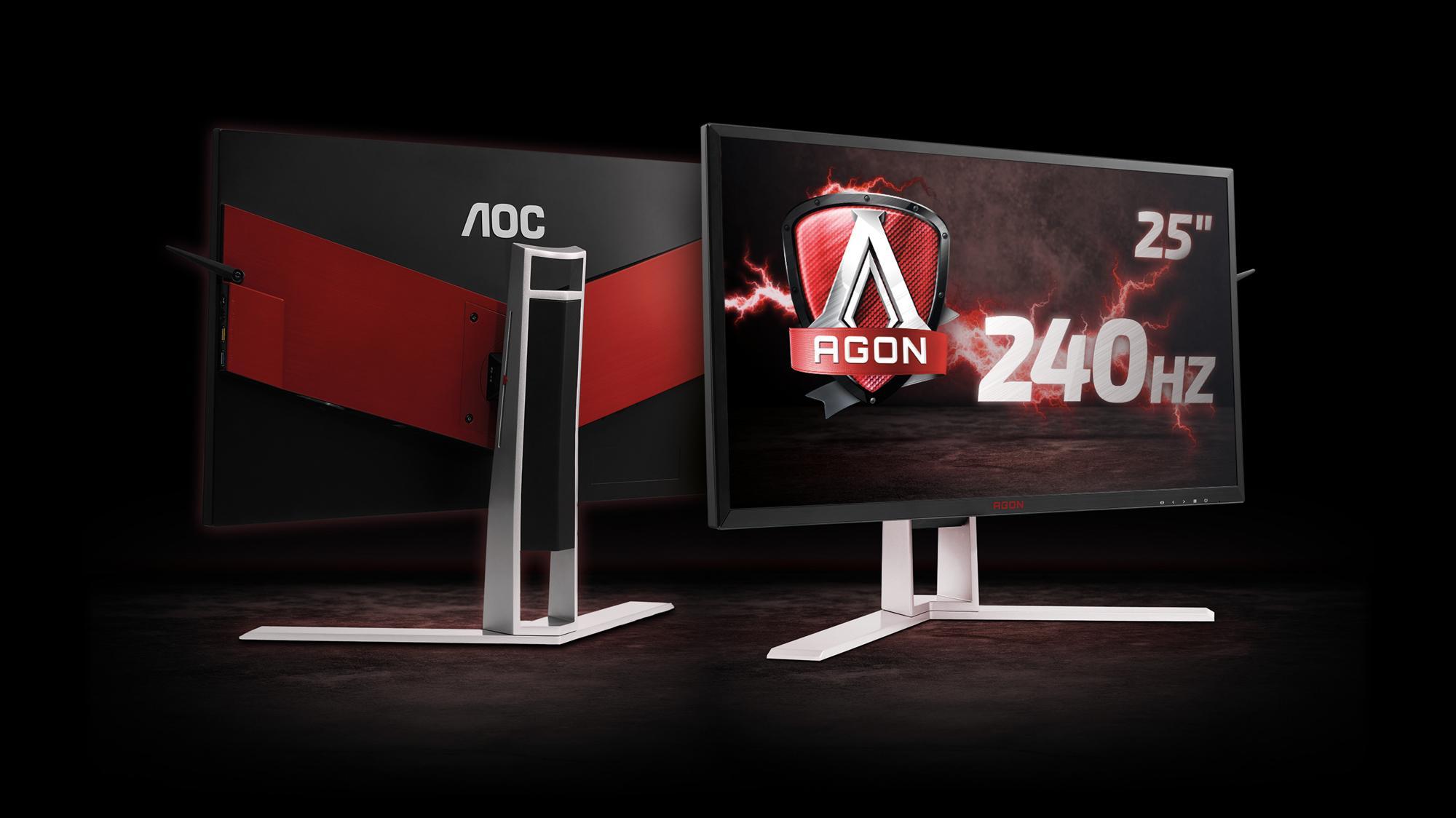AOCs nye spillskjerm er en lynrask råtass