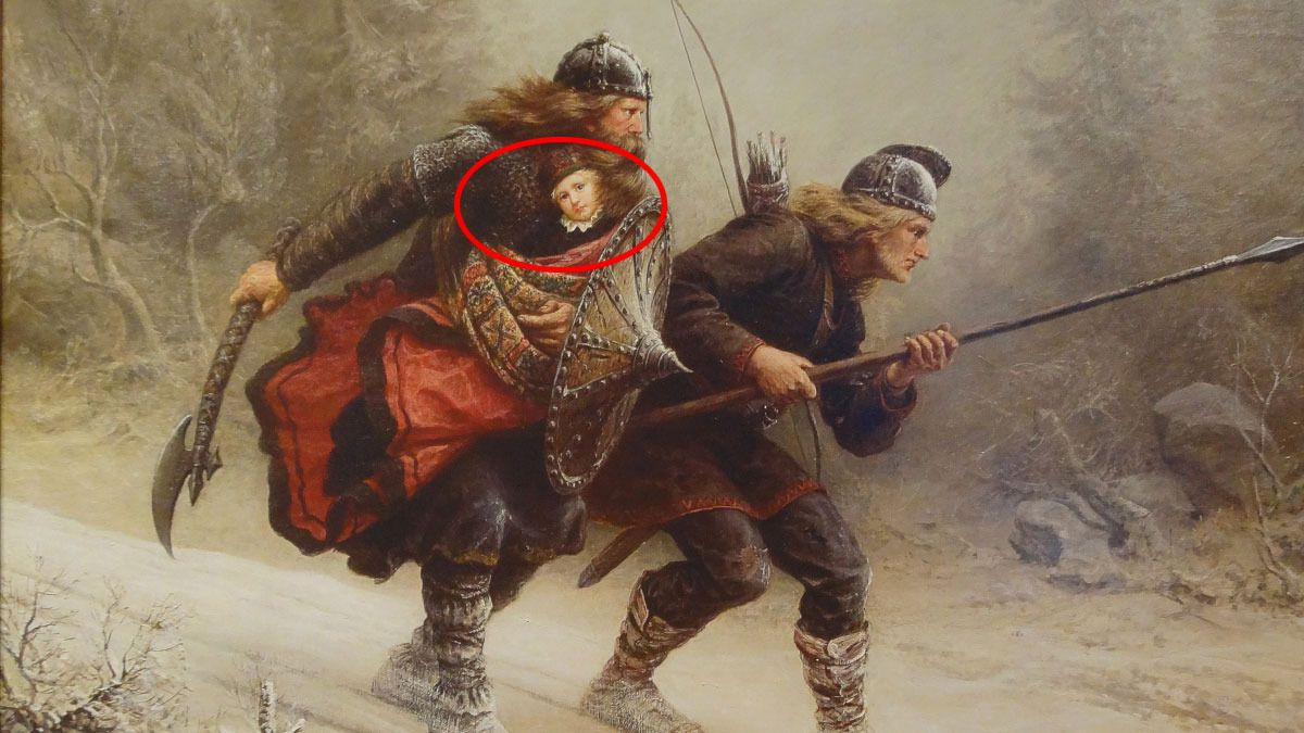 – Kong Håkon IV er min tipp-tipp-tipp-tipp... oldefar!