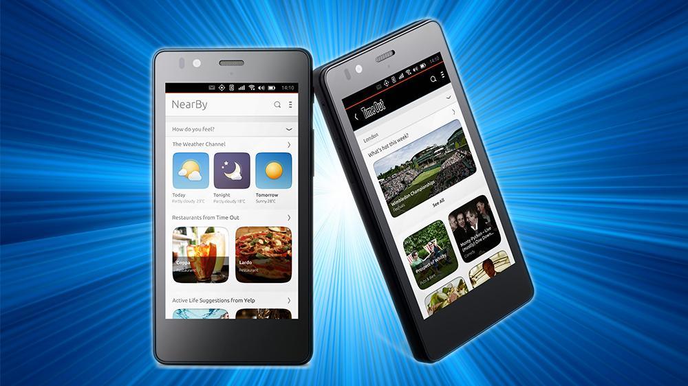 Her er Ubuntu-telefonen – men du må henge med i svingene om du vil kjøpe den