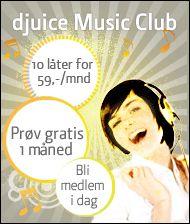 Telenors musikkbutikk har all musikken DRM-fri.