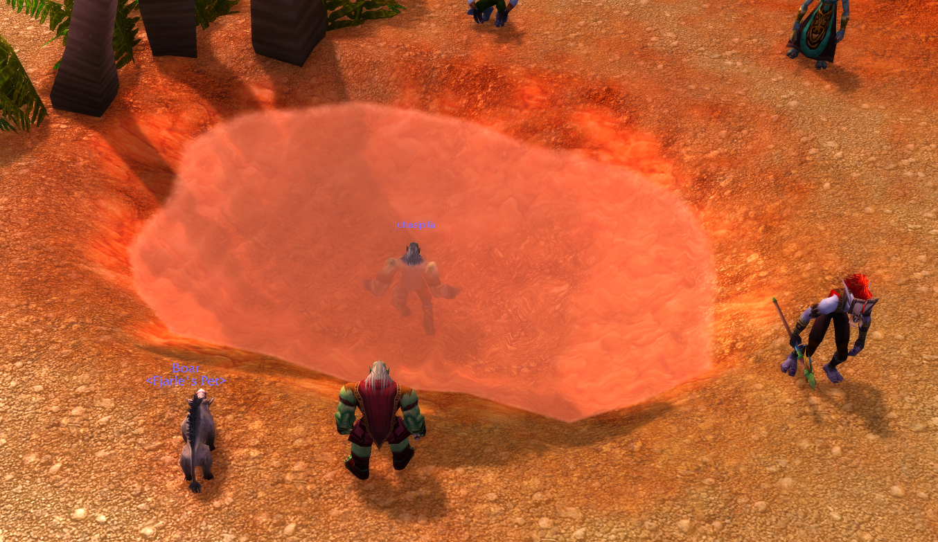 I landsbyen Sen'jin fant jeg en finne. I en kulp. Jeg antar at neste punkt på lista var badstuen.
