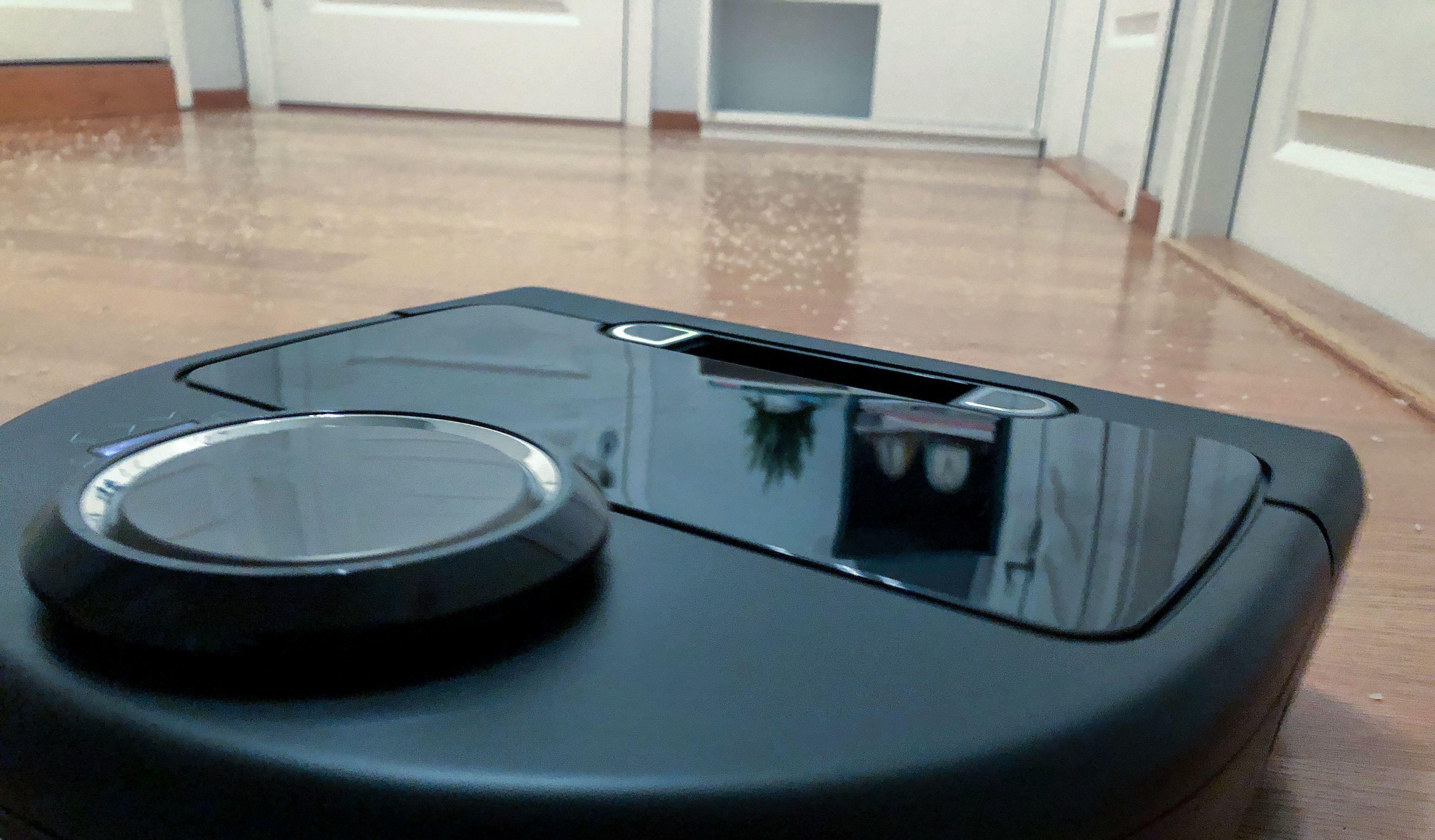 Slik så testrommet ut, med 60 gram riskorn strødd jevnt utover. undefined: Niklas Plikk, Tek.no