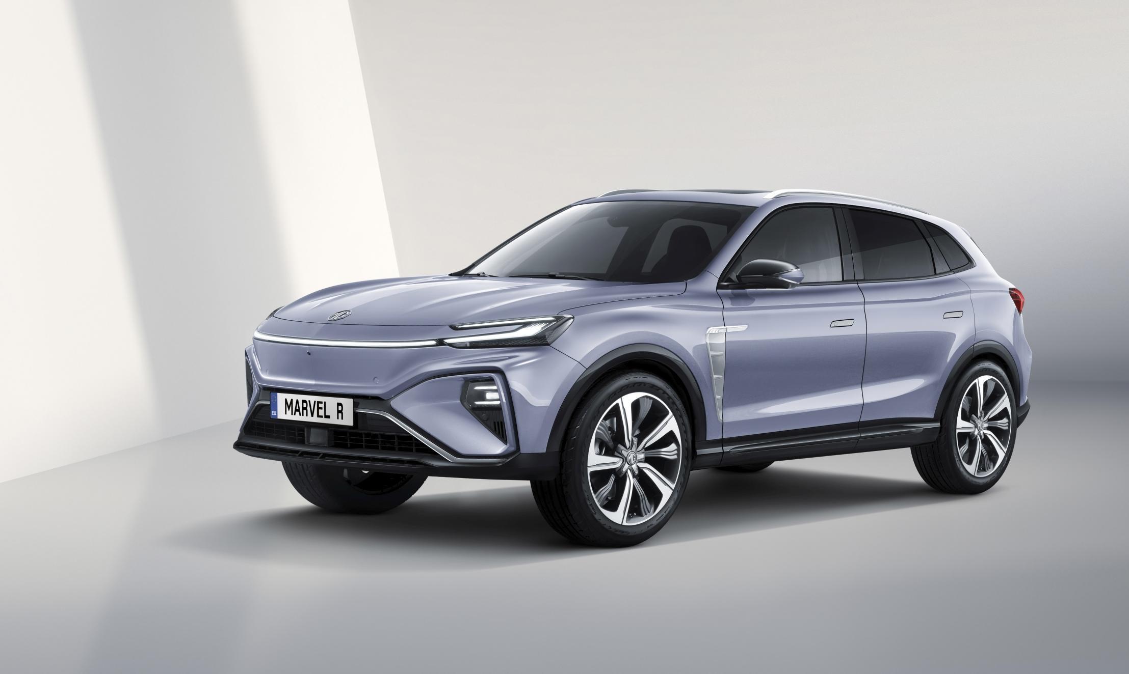 MG Marvel R Electric er neste elbil fra MG, og kommer til Norge i fjerde kvartal i år.