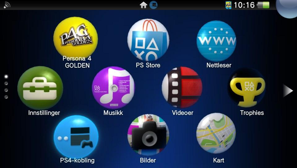 Appen PS4-kobling starter avstandsspillingen.