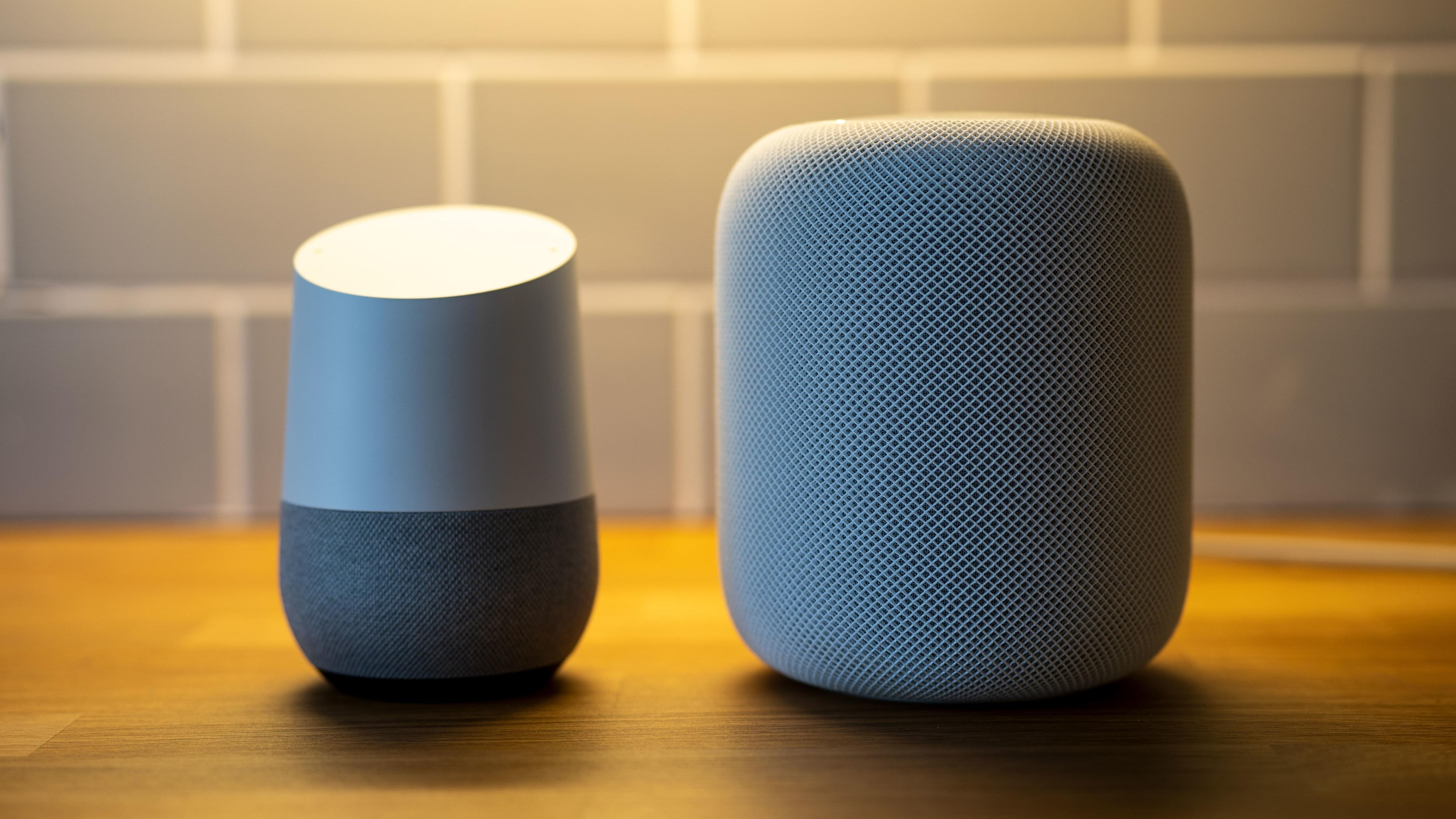 Lyden til Apples HomePod er milevis foran Google Home. Den koster dog betydelig mer, og er ikke offisielt sluppet i Norge.