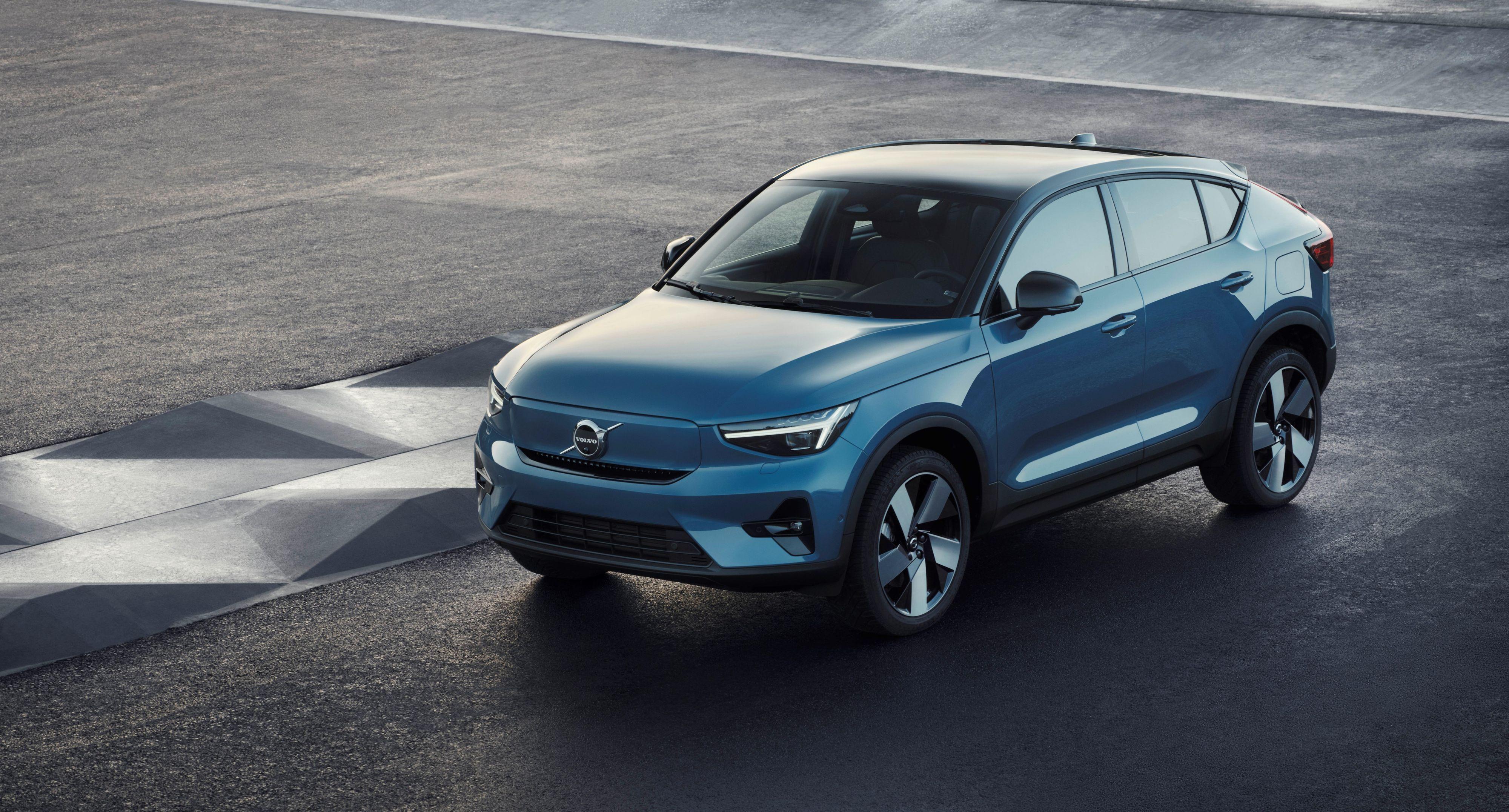 Volvos nye C40 Recharge blir den første rene elbilmodellen fra selskapet.