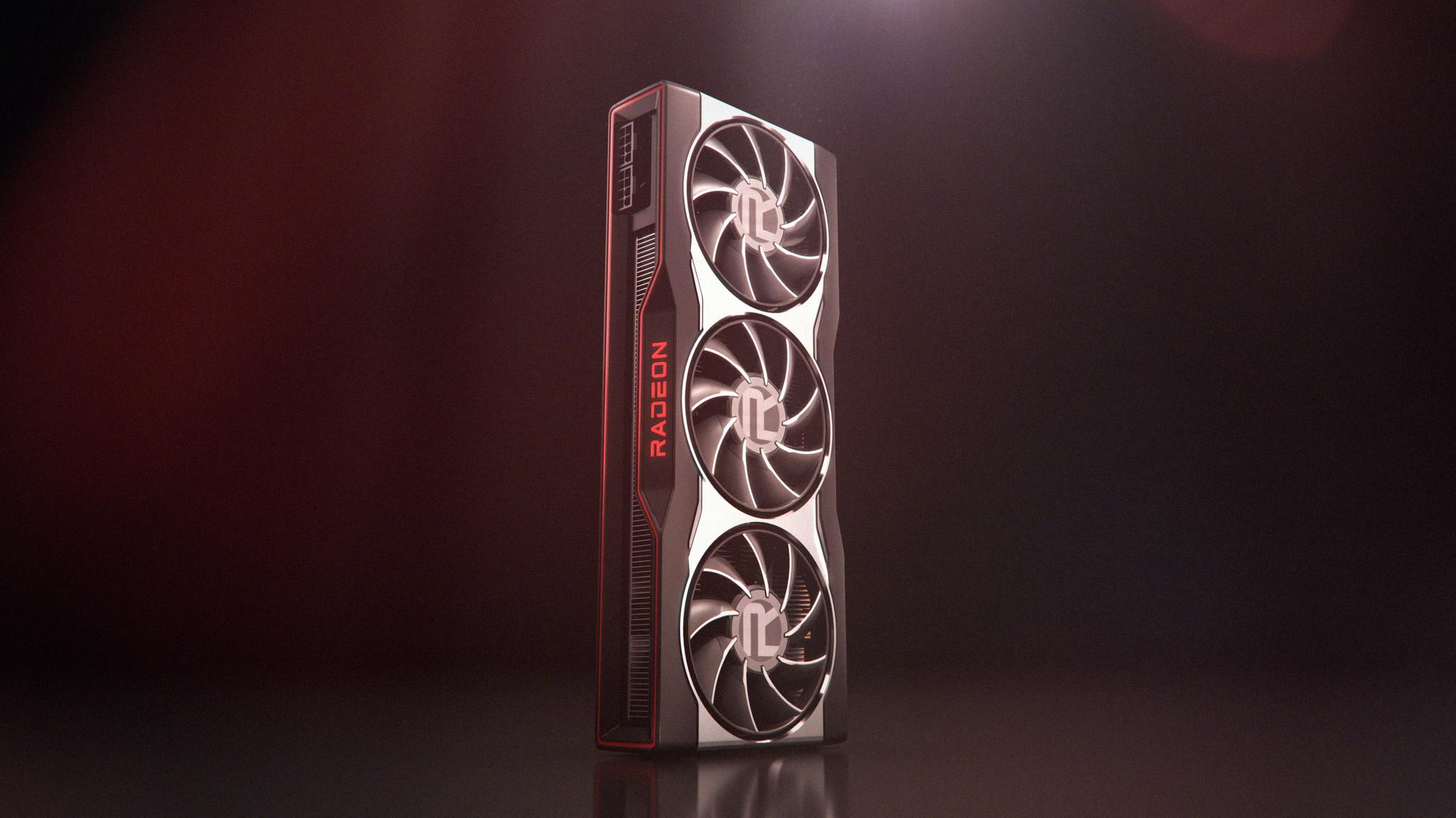 Designet til et av kortene i den kommende RX 6000-serien.