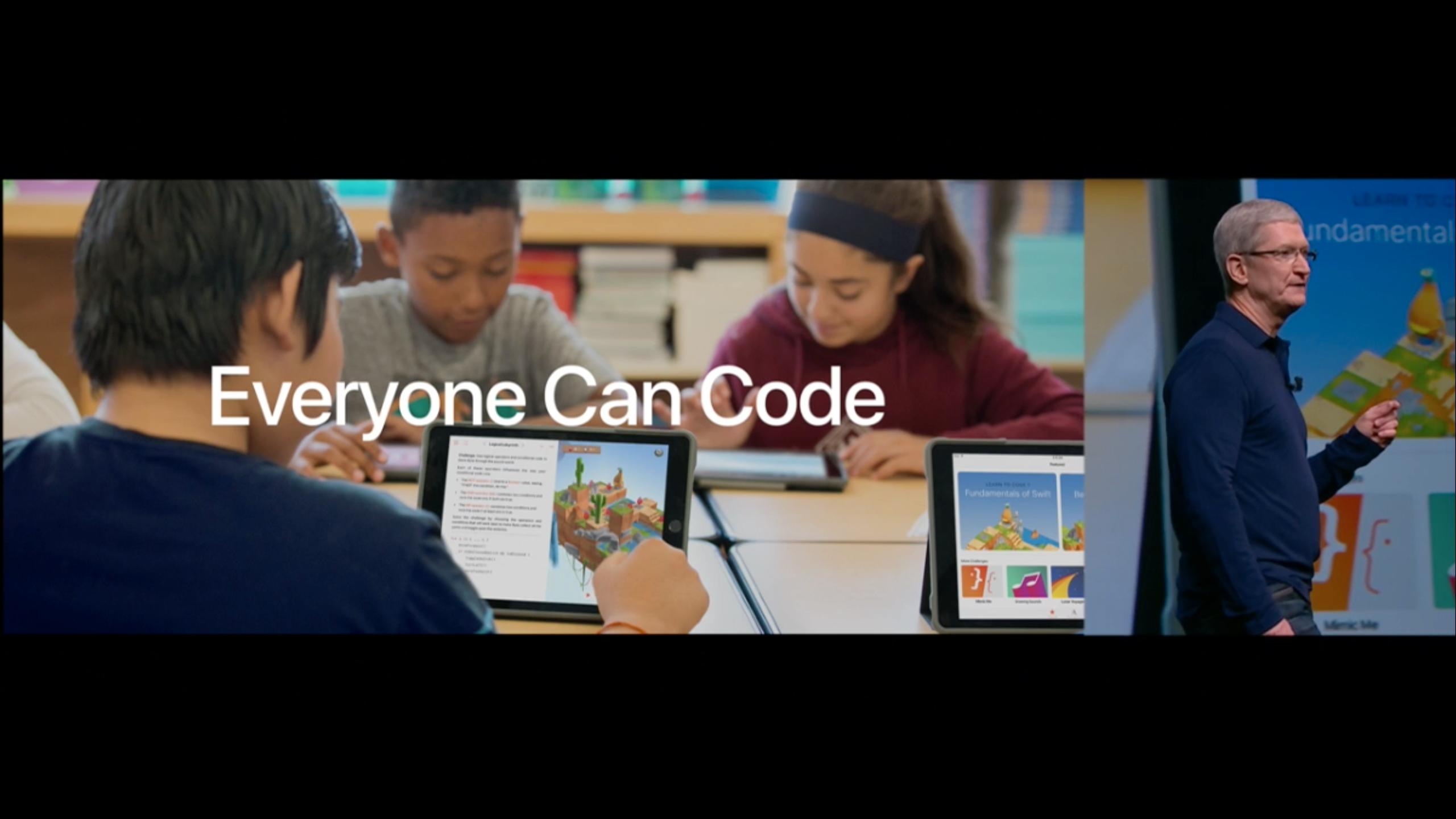 Swift Playground skal lære barn å kode.