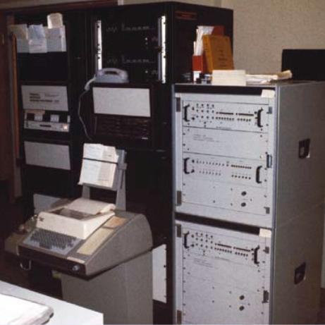 NORSARs TIP – den første koblingen til nettet utenfor USA. Foto: NORSAR