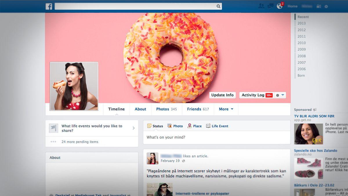 – Profilbildet ditt avslører deg