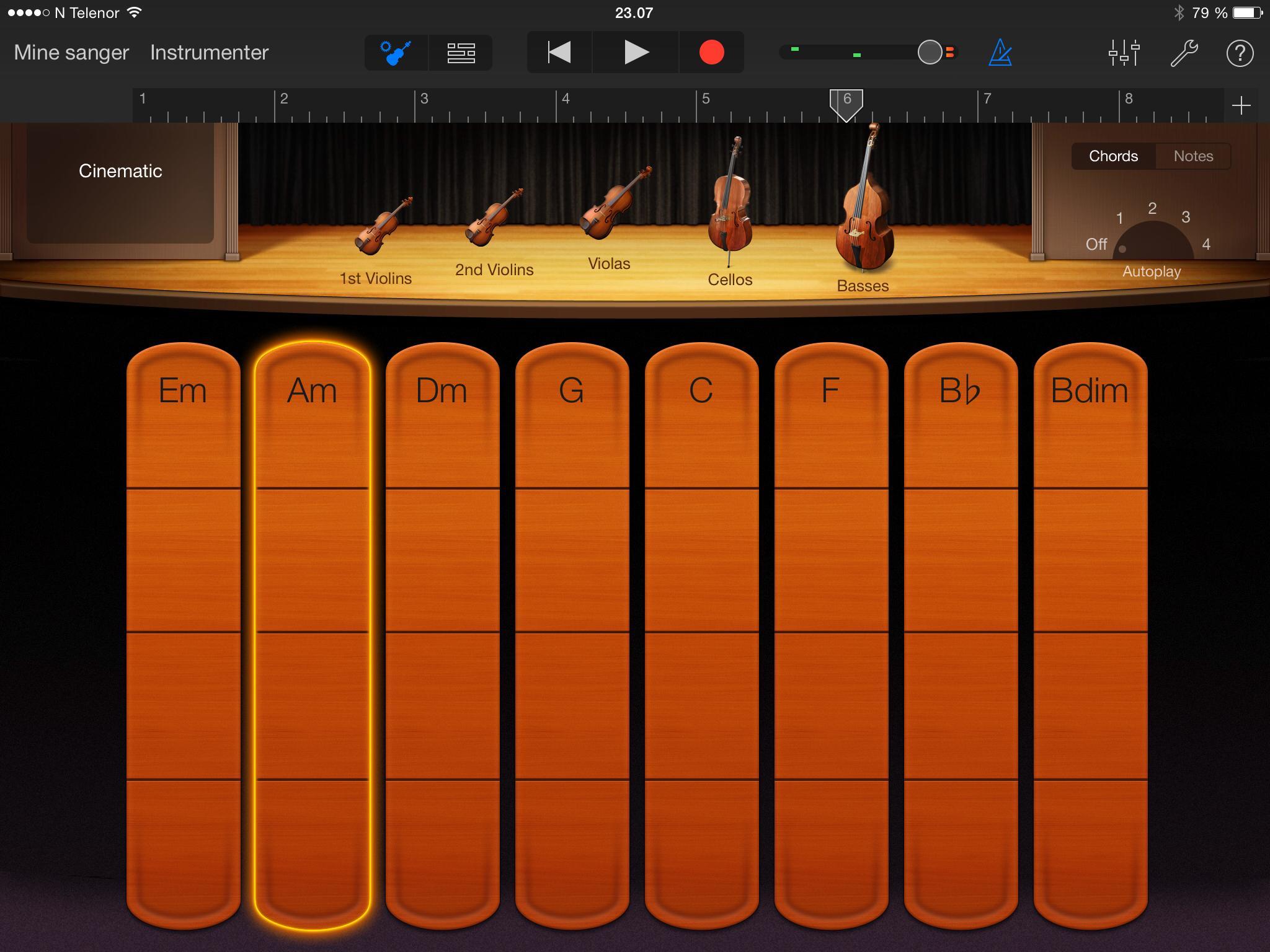 Garage Band lar deg lage musikk på en enkel måte, også om du hverken kan noter eller er musikalsk.Foto: Finn Jarle Kvalheim, Tek.no