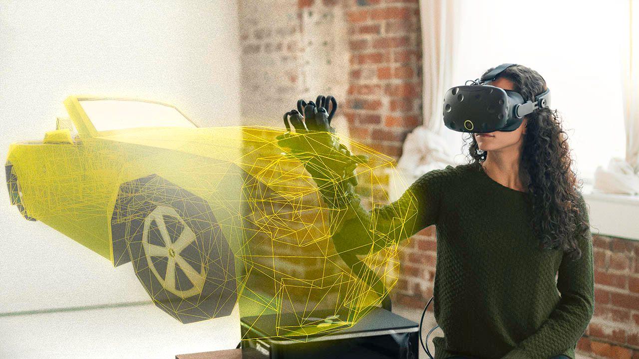 Med disse hanskene kan du endelig «kjenne» VR-verdenen