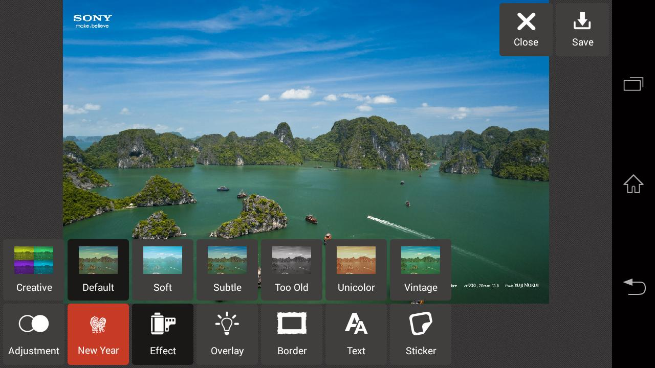 Med PixlrExpress kan du gjøre enkel bildebehandling eller legge på effekter og rammer på bildene dine.