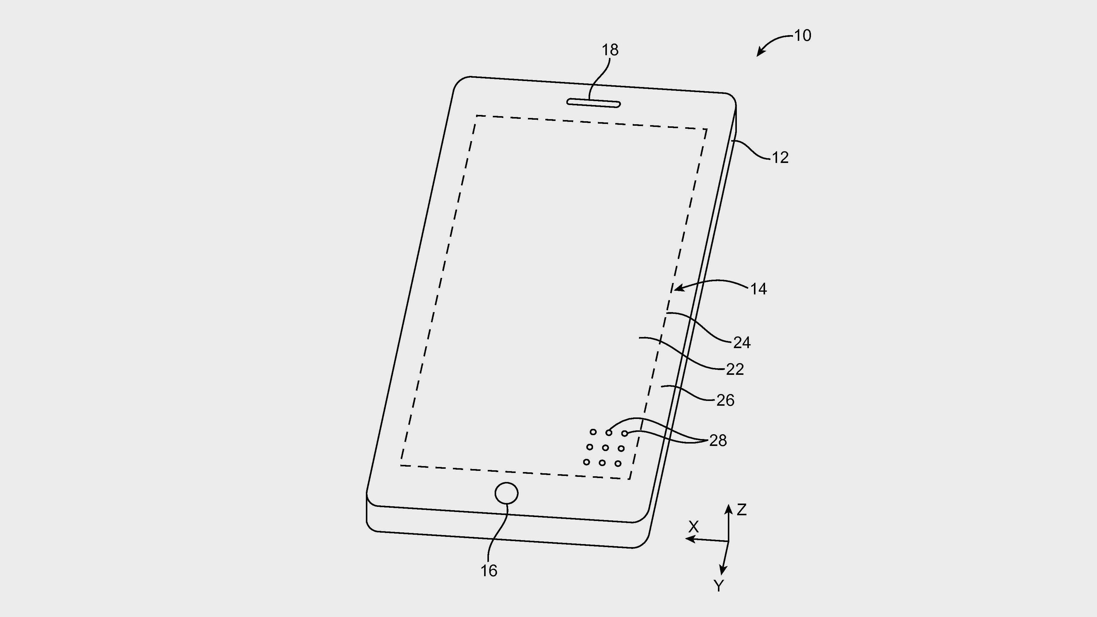 Apple planlegger en mobil med «huller» i skjermen