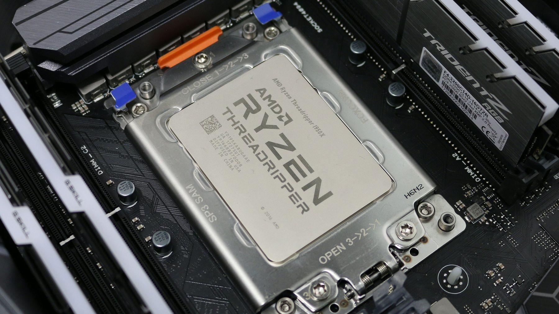 AMD skal slippe 64-kjerners Threadripper i 2020