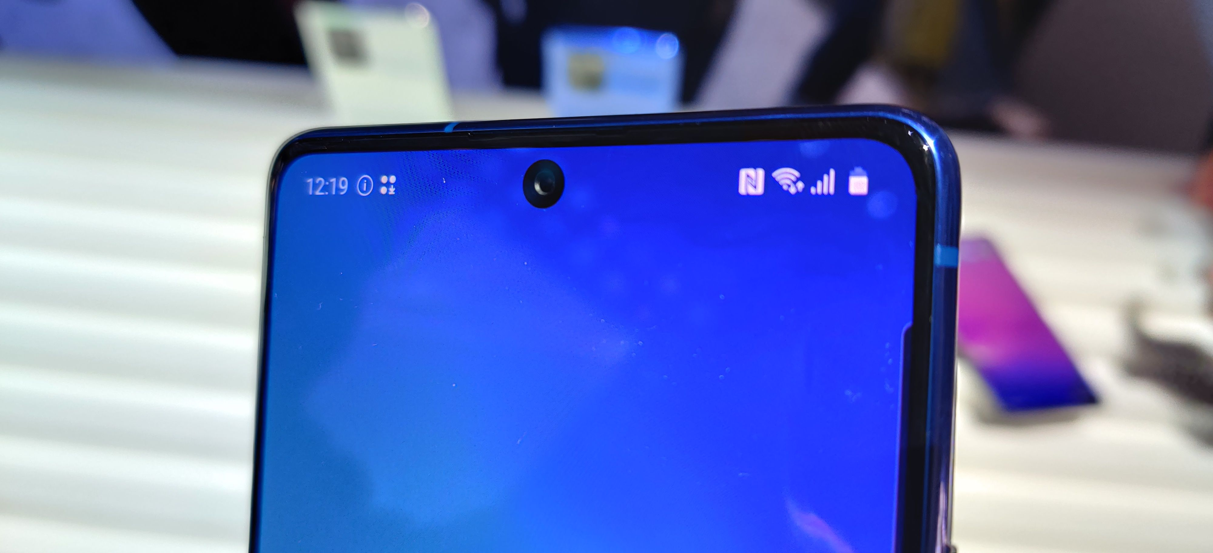Frontkamera skal være likt hos både Note 10 Lite og S10 Lite.