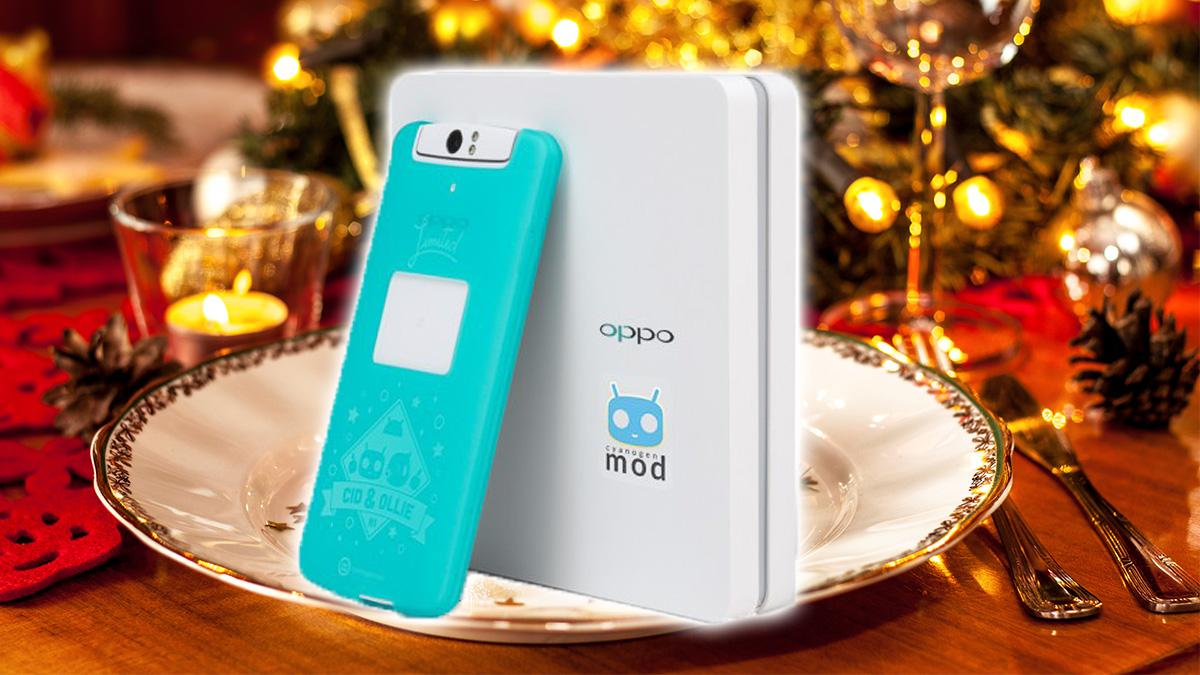 CyanogenMod-telefonen lanseres på julaften