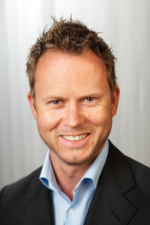 Karl Fredrik Lund, direktør for privatmarkedet i NetCom. Foto: NetCom