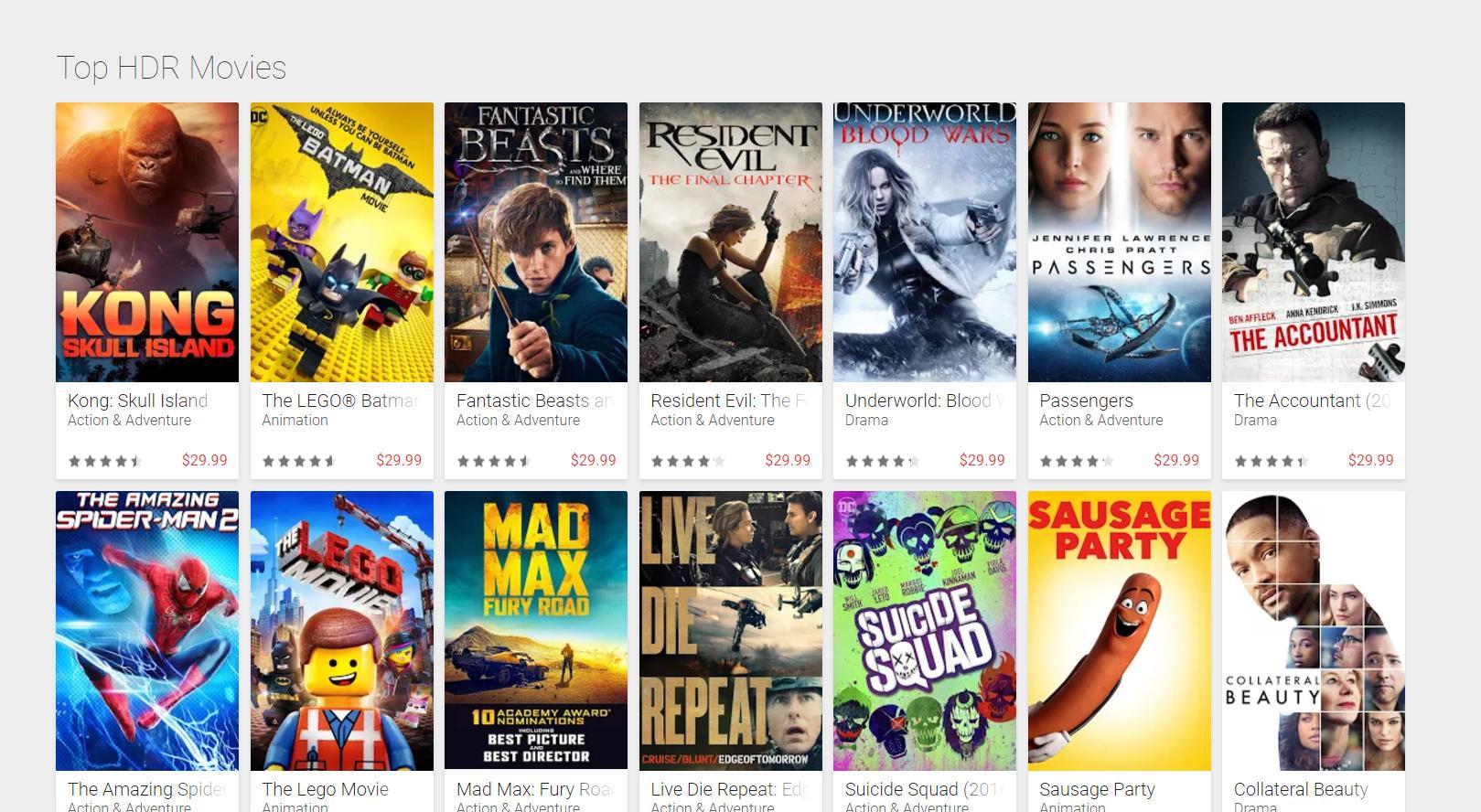 Googles Netflix-konkurrent får støtte for HDR