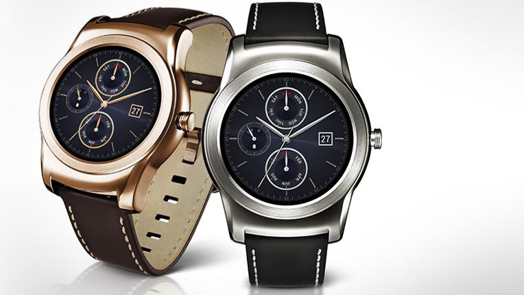 Foreløpig er det kun LG Watch Urbane som støtter Android Wear for iOS. Foto: LG