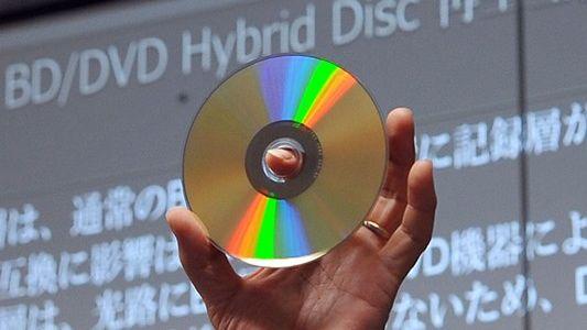 Blu-ray og DVD på samme skive