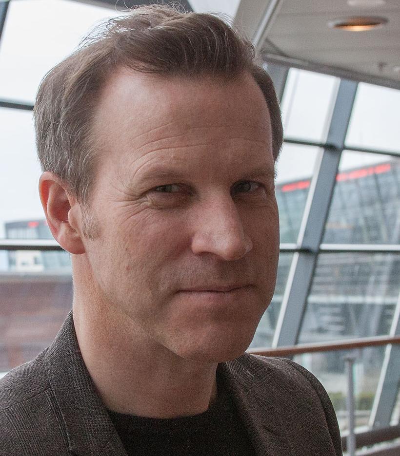 Anders Krokan i Telenor sier de bruker basestasjoner fra Huawei, men at de har god kontroll på hvem som har tilgang til disse systemene.