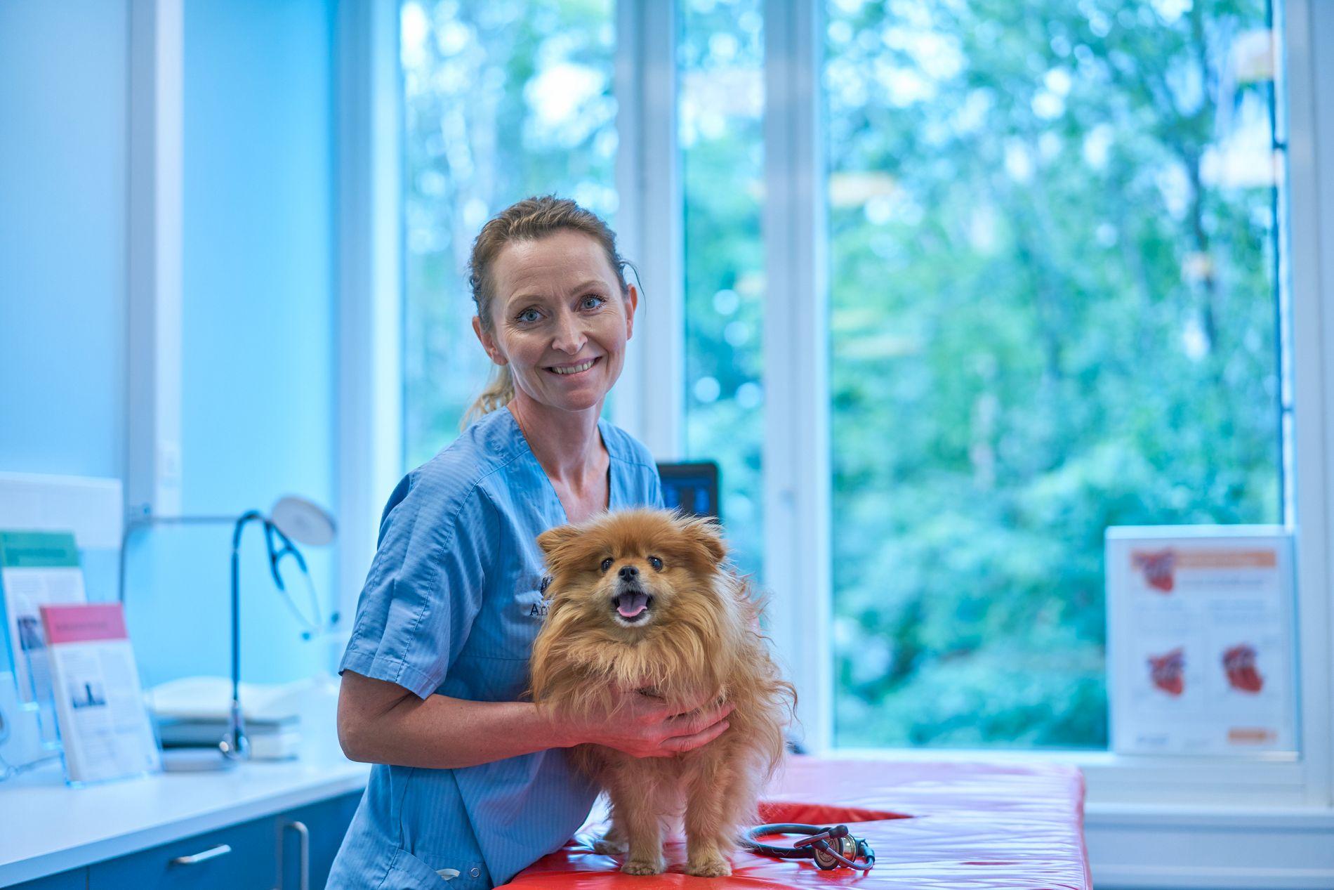 EKSPERT: Liva Vatne er veterinær og kardiolog ved nye AniCura Dyresykehus.
