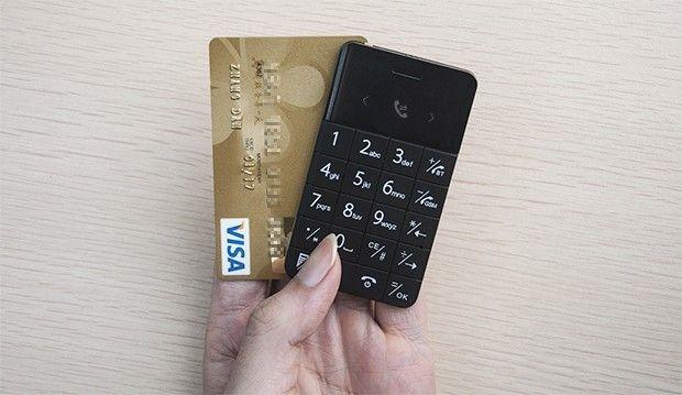 Talkase er nøyaktig like stort som et kredittkort.Foto: WirelessMe