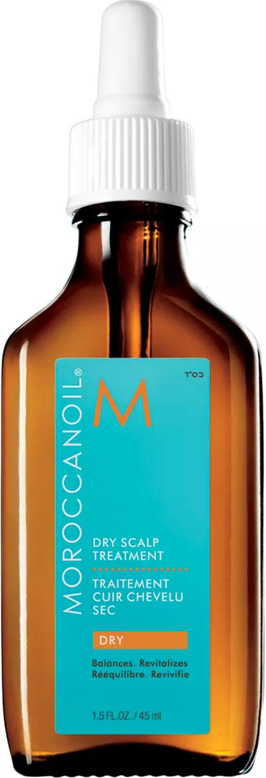 Hårolja från Moroccan Oil mot torr hårbotten.