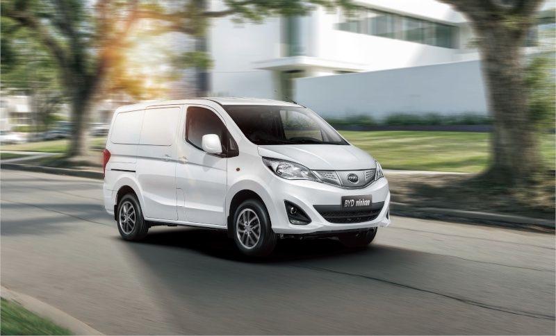 BYD skal også blant annet ha en elektrisk varebil på gang.