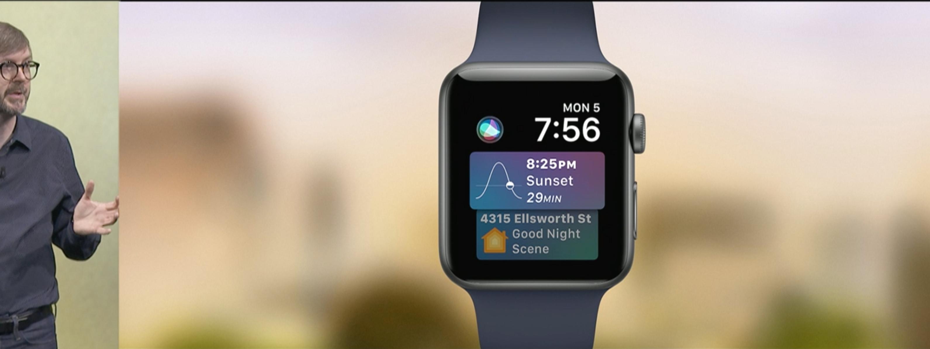 Nye Siri Face på Apple Watch OS 4.