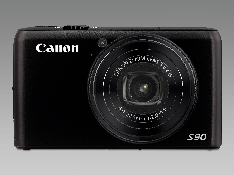 Canon PowerShot S90 - billig og bra entusiastkompakt.
