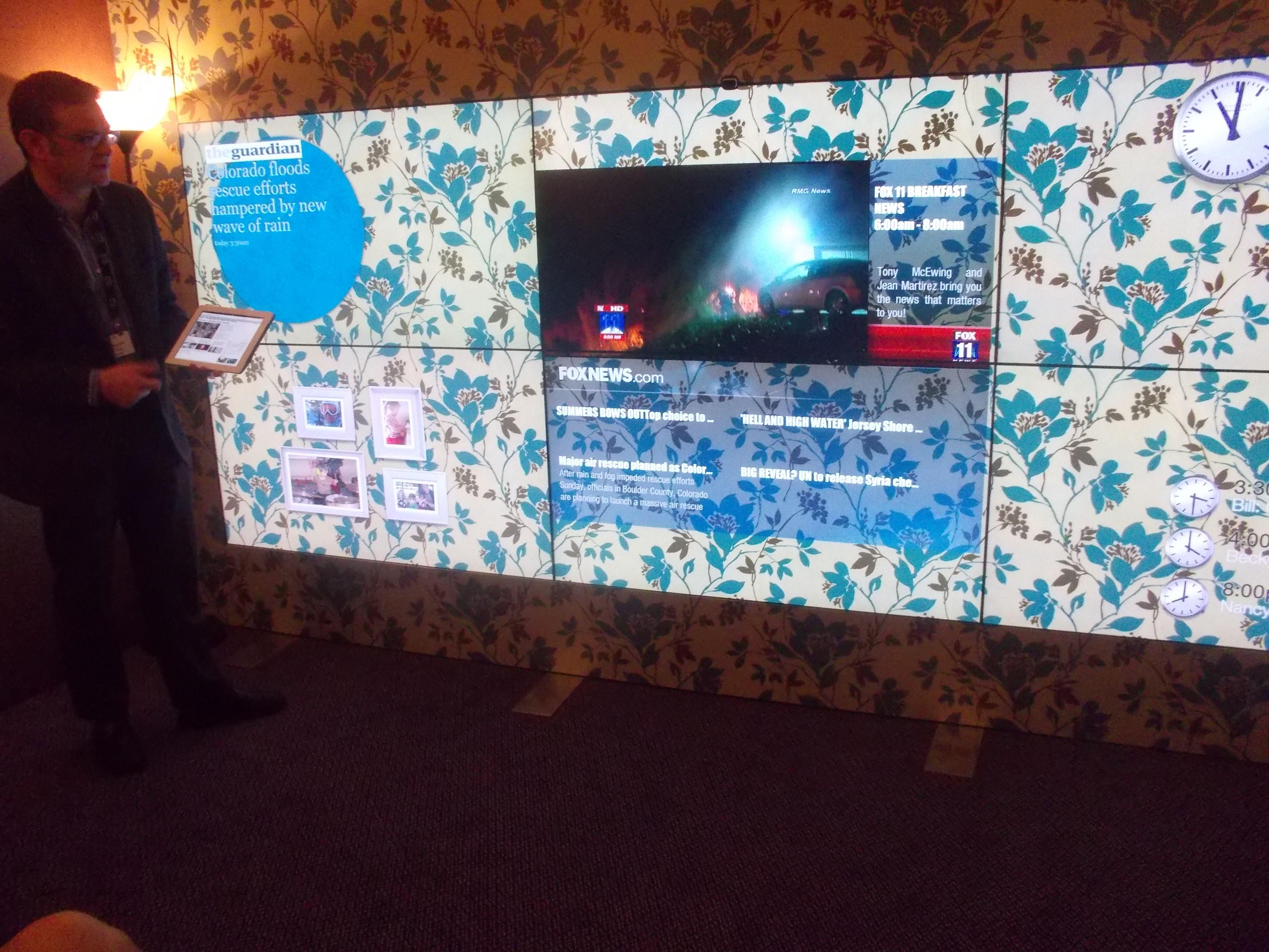 Her ser vi prototypen som Cisco viste frem under årets IBC-messe.Foto: Torkel Thoresen