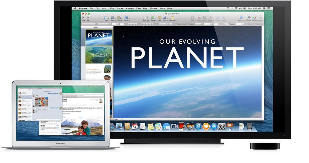 Deling av skjermbildet blir bedre.Foto: Apple