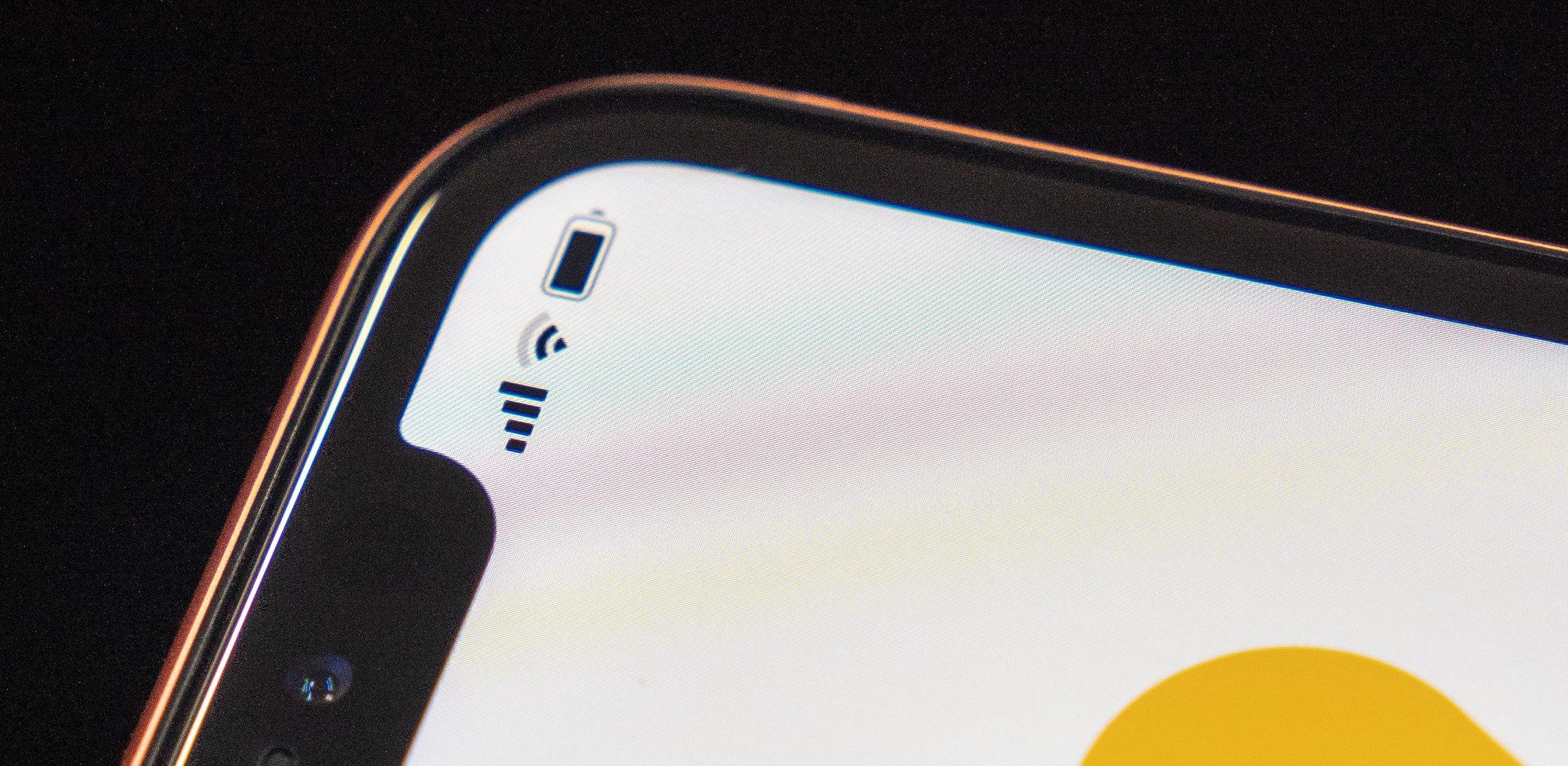 Til tross for at det er en LCD-skjerm har Apple klart å gjøre så det ser ut som kantene er avrundede.