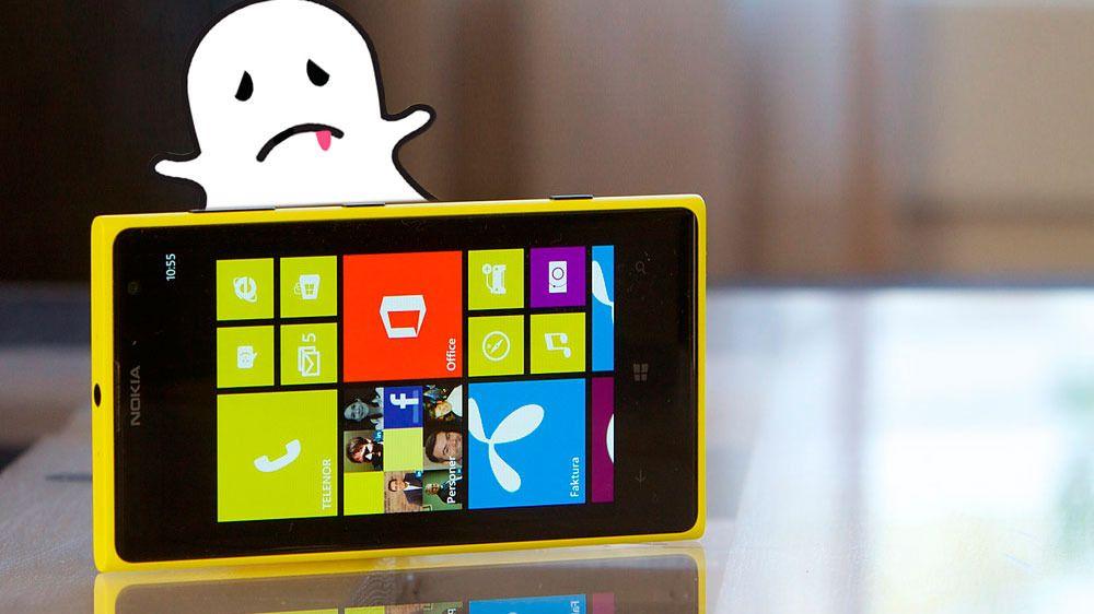 Derfor kommer Snapchat trolig aldri til Windows-mobiler