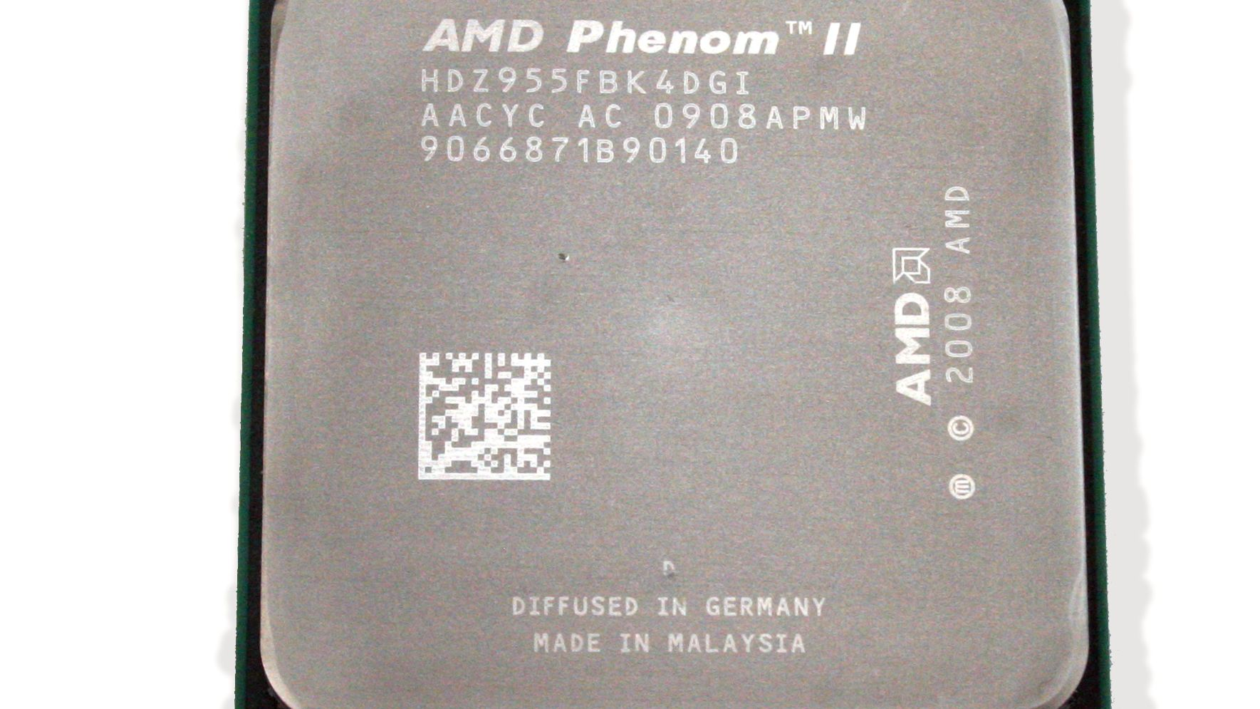 AMDs toppmodell på pinebenken