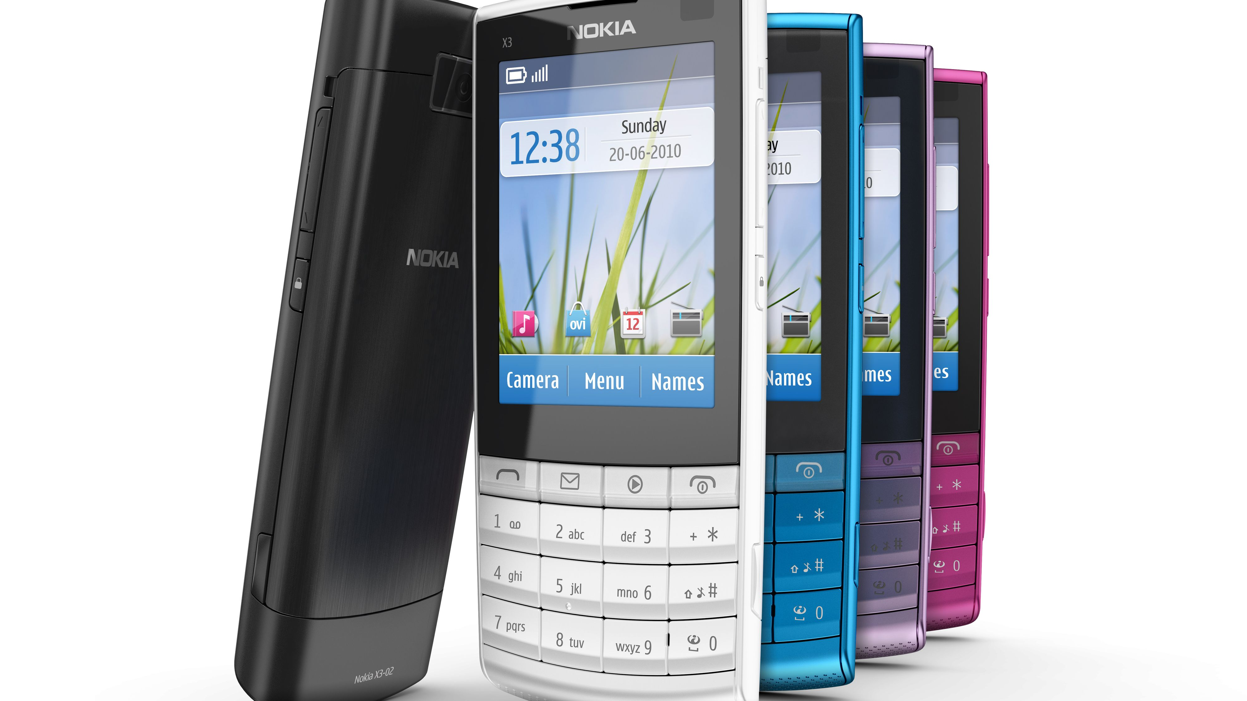 Nokia lanserer X3 Touch and Type