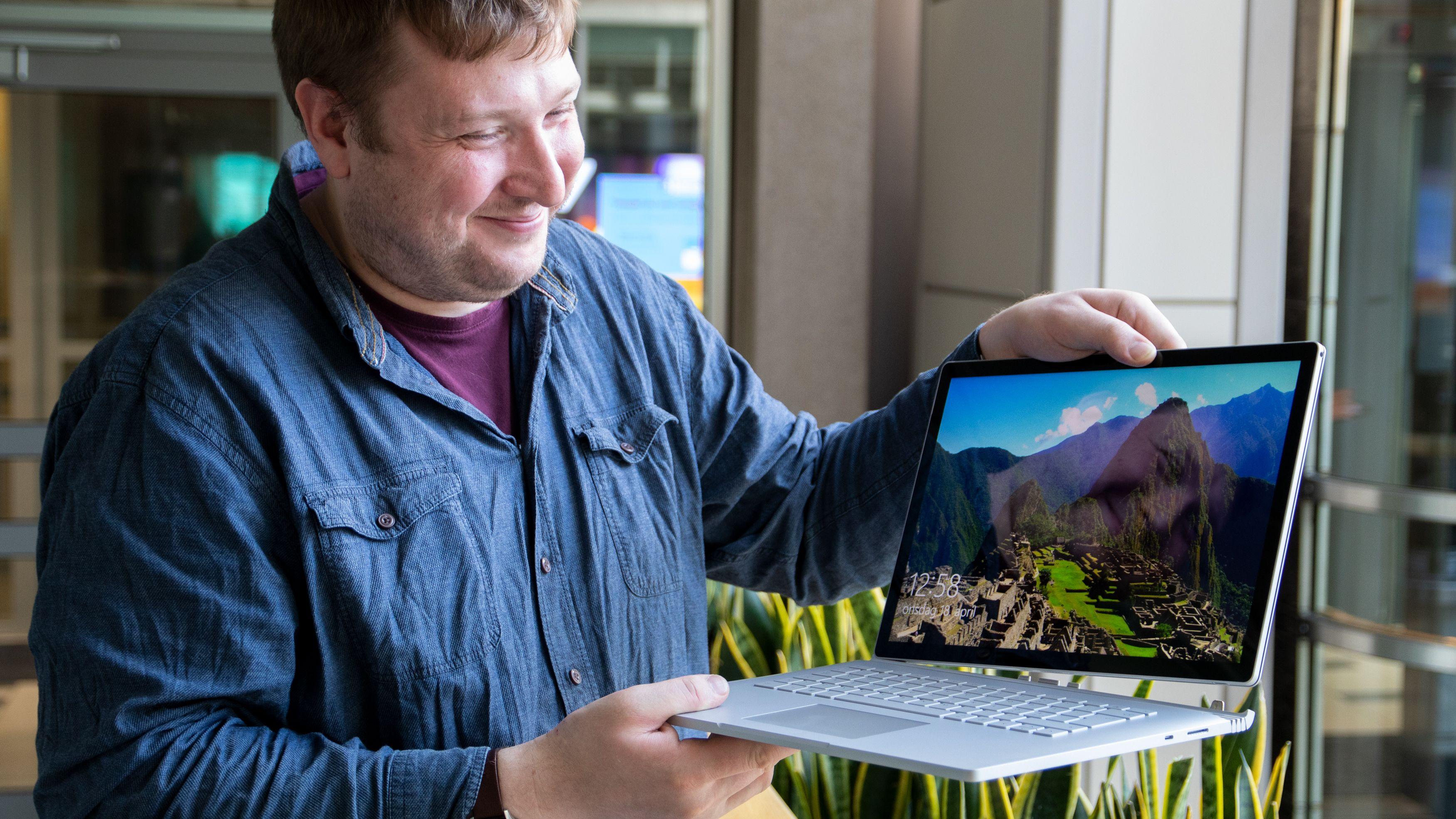 Microsoft Surface Book 2 15-tommer med GTX 1060-grafikk