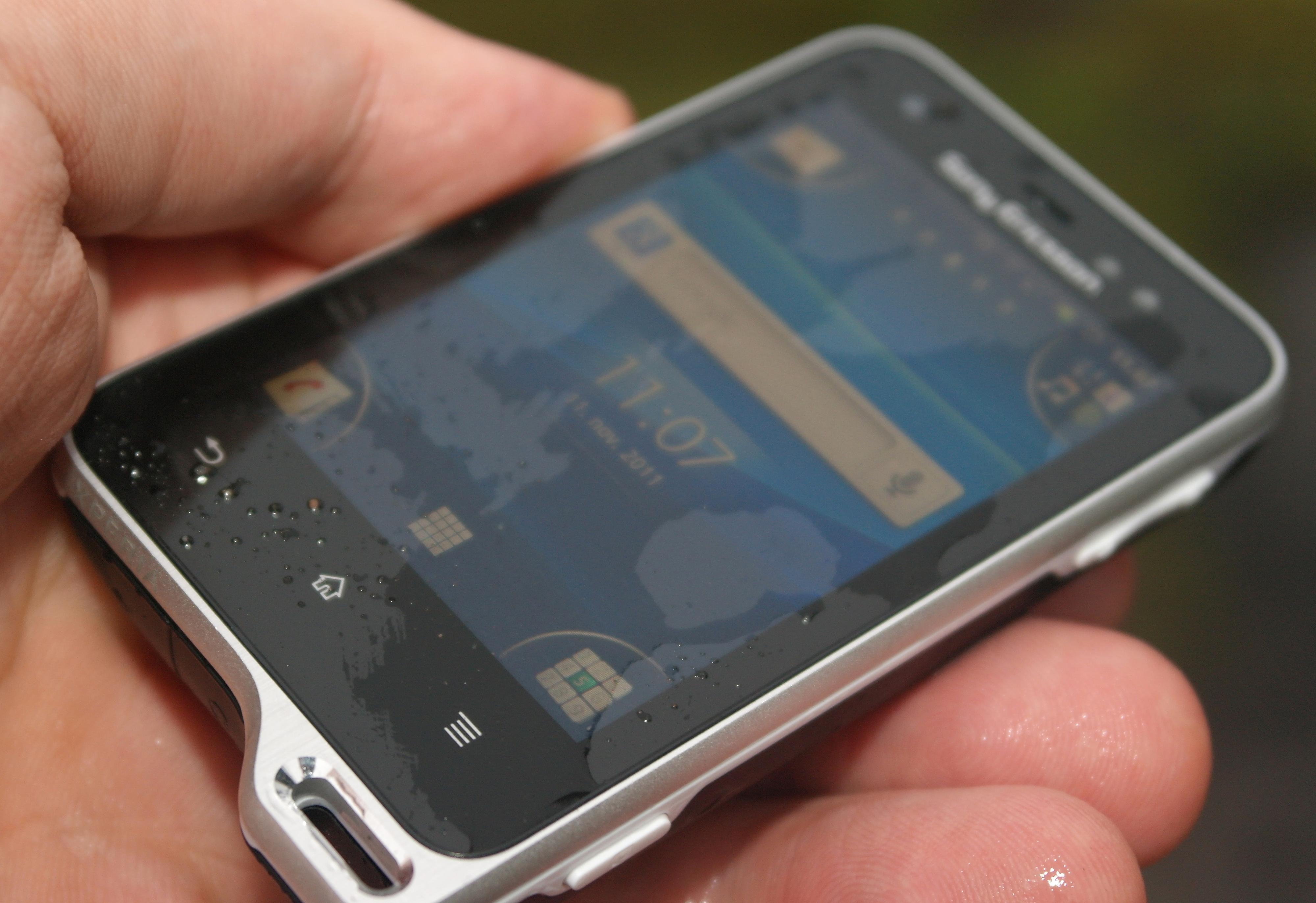 Sony Ericsson Xperia Active er en vanntett treningsmobil som tåler en støyt.